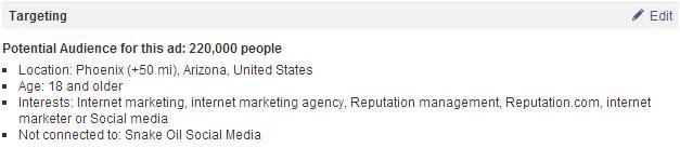 facebook ads #1 targeting